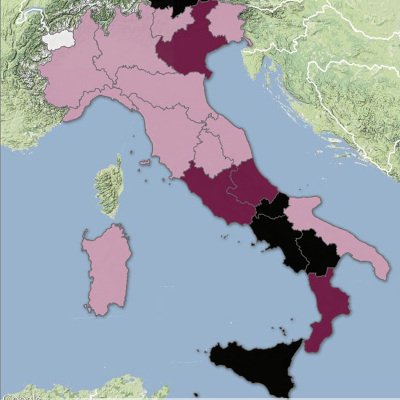 the state of maternity services in italy